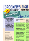 Crockers - Fish Oil- Brochure