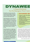 Dynaweed - Pre-emerge Herbicide / Natural Fertilizer- Brochure
