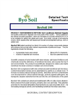 ByoSoil ByoGrow Detailed Technical Specifications- Brochure