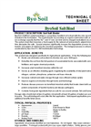 ByoSoil ByoDetox Technical Data Sheet