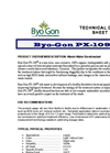 Byo-Gon PX-109 Organic Technical Data Sheet