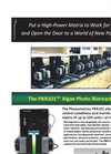 Model PBR101 - Phenometrics Photo Bioreactor Brochure