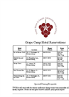 2016 Grape Camp Registration