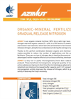 AZIMUT - Model NPK 15.5.5 - Organic Mineral Fertilizer Brochure