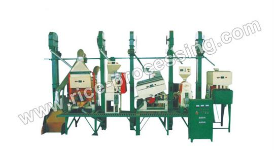 20-30T/D Integrated Rice Milling
