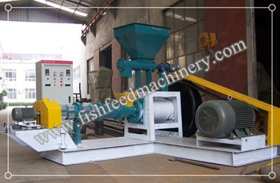 FANWAY - Model FY-DGP50 - 60-80kg/h Dry Type Fish Feed Extruder