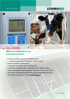 Model CL-5000 - Ventilation Controls Cattle Computer Brochure