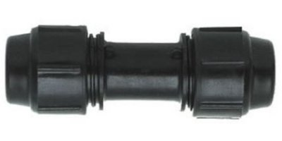Quick Coupling for Greenhouse Heating Tube
