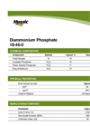 Model (DAP) 18-46-0 - Diammonium Phosphate Brochure