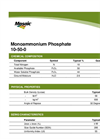 Model (MAP) 10-50-0 - Monoammonium Phosphate- Brochure