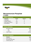 Model (MAP) 11-52-0 - Monoammonium Phosphate Brochure