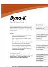 Dyna - Model K - Feed-Grade Potassium Chloride- Brochure