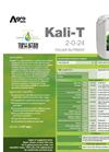Kali-T - Foliar Nutrient (2-0-24) - Datasheet