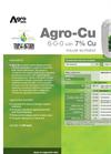 Agro-Cu - Foliar Nutrient (6-0-0 With 7% CU) - Datasheet
