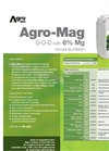 Agro-Mag - Foliar Nutrient (0-0-0 With 6% Mg) - Datasheet