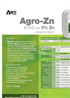 Agro-Zn - Foliar Nutrient (6-0-0 With 9% Zn) - Datasheet