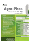 Agro-Phos - Foliar Nutrient (0-29-5 With 4% Mg) - Datasheet