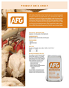 Model AFG - Sodium Bisulfate Animal Feed Grade - Brochure