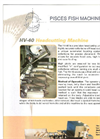Model HV-40 - Head Cutting Machines Brochure