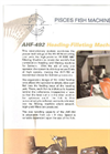 Model AHF 492 - Single Operator Processing Systems Brochure