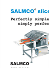 SALMCO - Model 5418 - Double Lane Slicer Brochure