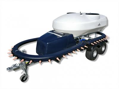 Stallion - Model MTF Series - Milk Tanker Mixer Feeder