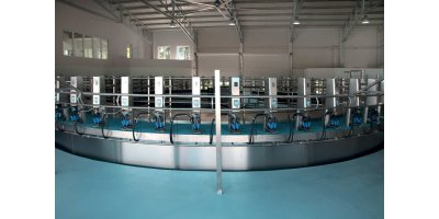 Outside Rotary Milking Parlour