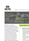 SETSais - Version - Aquaculture Information System Software Brochure