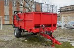 Model PTU-5A - Solid Organic Manure Spreader