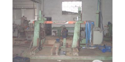 Primultini - Model SGP17B - Electric Carriage Logband Sawmill