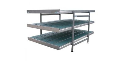 Three Layer Roller Conveyor