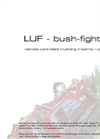 Remote Controlled Mulching Machine/ Carrier Brochure
