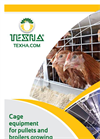 Model JUNIOR - Cage Equipment for Pullets Growing- Brochure