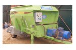 Sayginlar - Model YK-HEL 50 - Feed Mixer 4m3 380 W Electric Motor with conveyer
