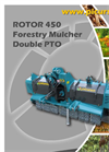 Model 450 - Double PTO Shaft Forestry Mulcher Brochure