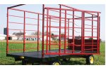 Model  818S - 818WS - Hay Bale Wagons