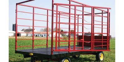 Farmco - Model 818S - 818WS - Hay Bale Wagons