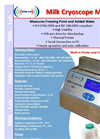 Model MC1 - Milk Cryoscope Analyser Brochure