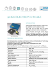 Model 50 kg (68827) - Electronic Scale Brochure