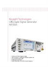 Model X-Series UXG - Agile Signal Generators Brochure