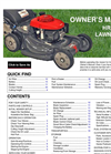 Model HRX217VLA - Lawn Mowers Brochure