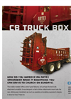 Artex - Model CB2004 - Truck Mounted Boxes - Brochure