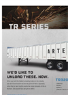 Artex - Model TR3206-8 - Silage Trailers Brochure