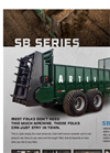 Artex - Model SB600 - Tractor Pulled Manure Spreaders Brochure