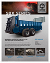 Artex - Model SBX550 - Tractor Pulled Manure Spreaders Brochure