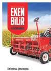 YAŞAR - Universal Cereal Seeder With Gearbox Brochure