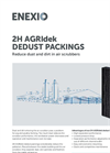 2H AGRIdek - Dedust Packings - Brochure