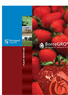 BorreGro - Model CA - Sustainable Soil Conditioner- Brochure