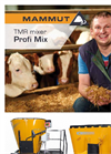 Profi Mix - Model TMR - Mixer Brochure