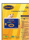 Genius - Model GE-25LE - Controllers Brochure